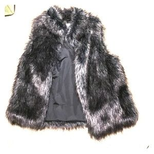 Faux fur vest new